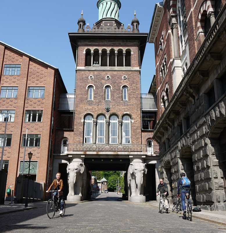 Sightseeing mit dem Rad in Kopenhagen