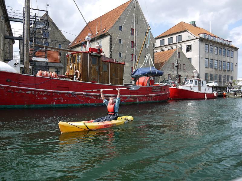 Kopenhagen mit dem Boot
