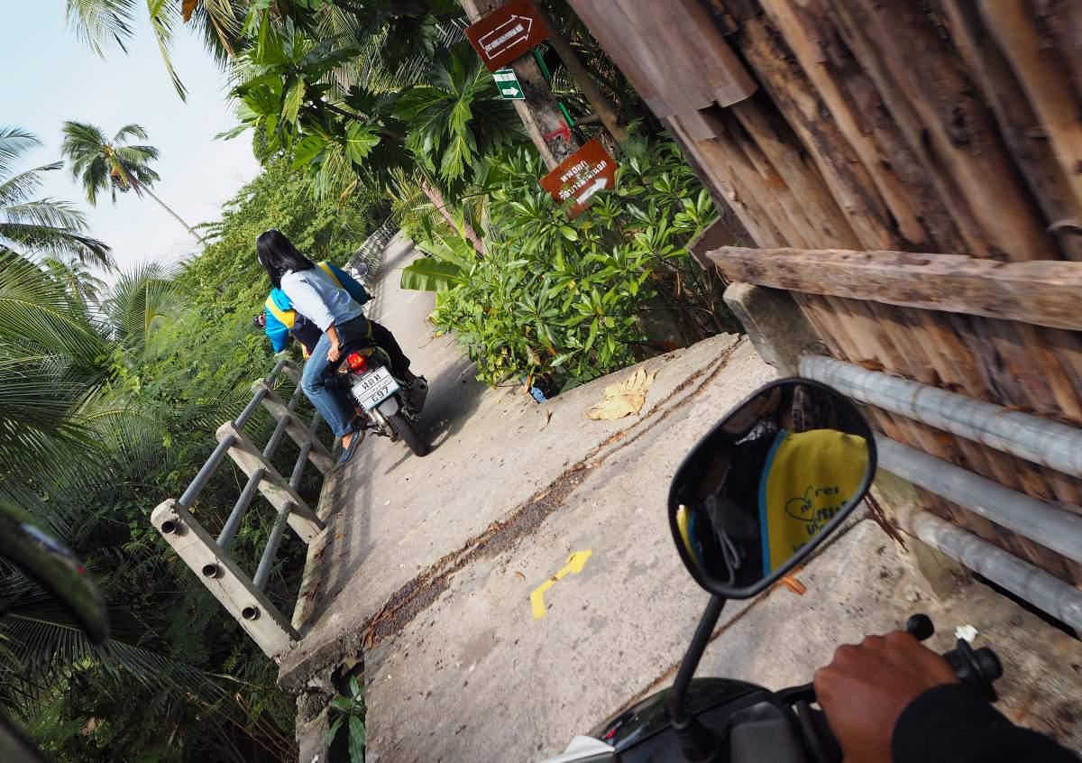 Motorradtaxi Thailand