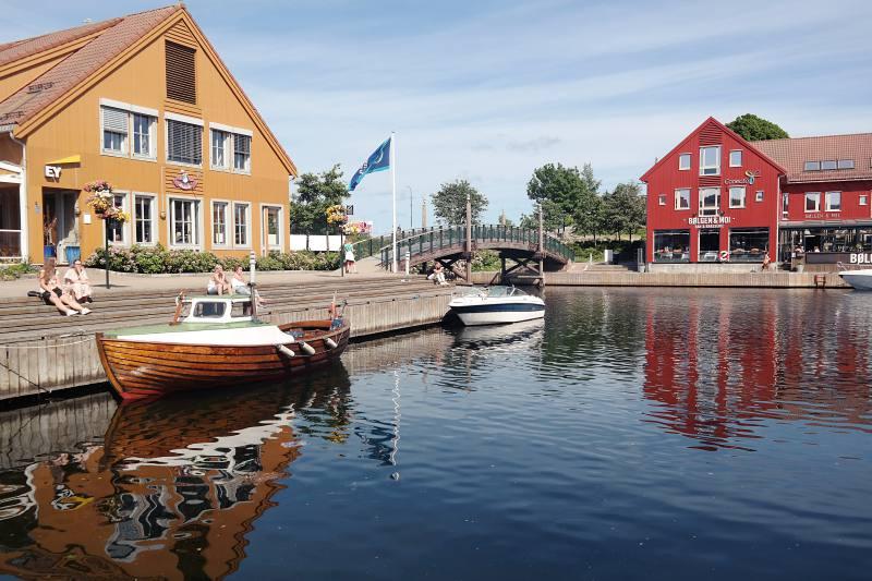 Fiskebrygga in Kristiansand