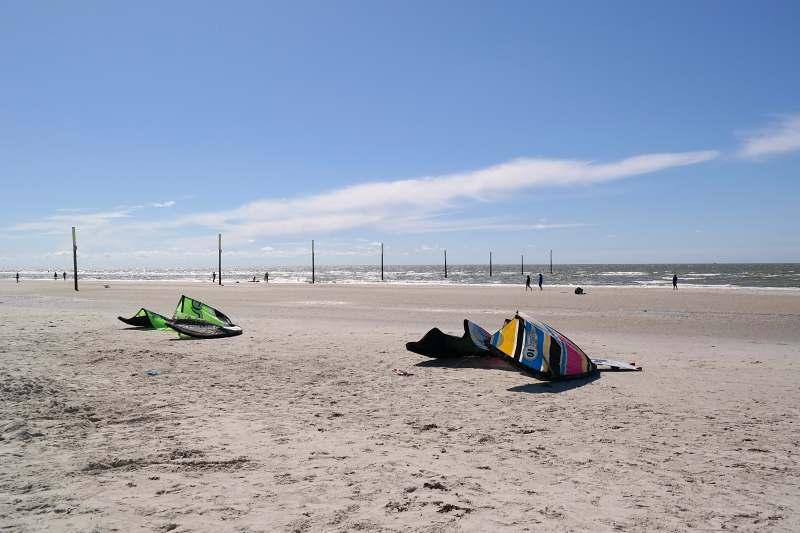 Windsurfing-Pause
