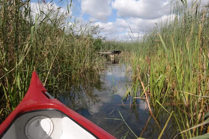 Mit dem Kanu auf dem Schaalsee