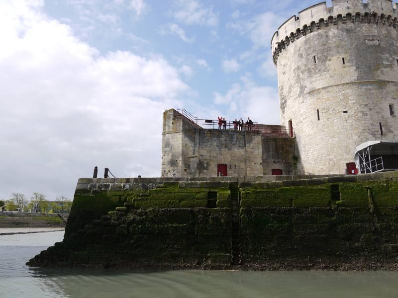 La Rochelle mit dem Boot