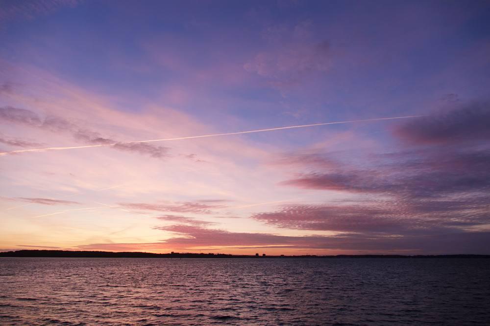 Sunset über der Förde