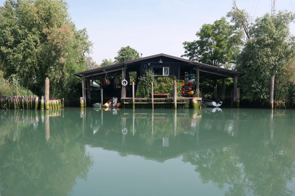 Bilancia di Bepi in der Lagune von Marano