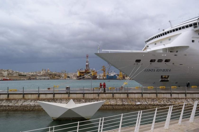 Im Hafen von Valletta