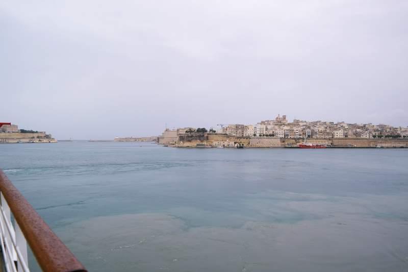 Malta im Regen