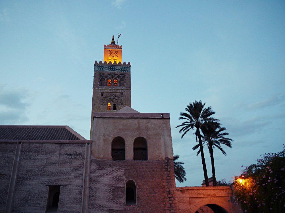 Abends in Marrakech