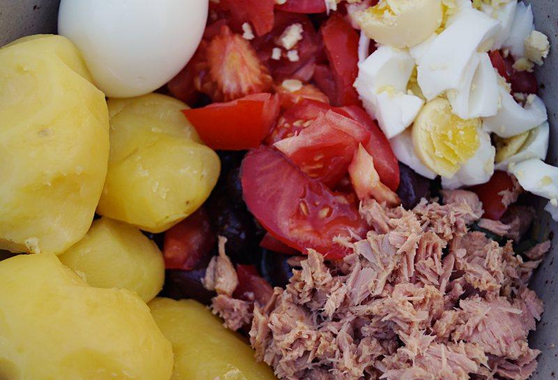 Nizza-Salat – Salade niçoise