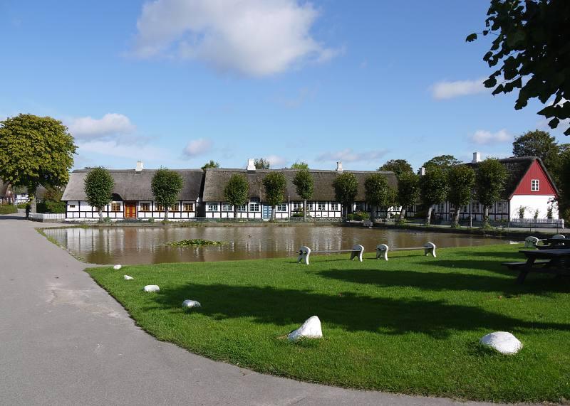 Dorfschönheit in Dänemark