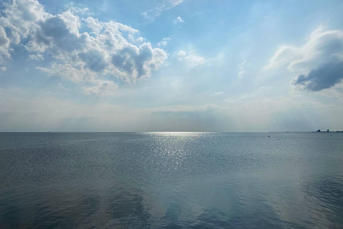 Am Strand, Speicherkoog