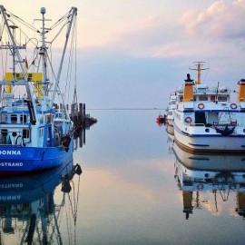 Im Hafen von Nordstrand
