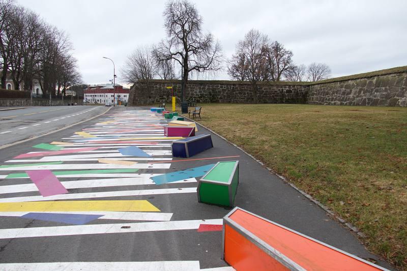 "Oslo, Installation ""Shall we dance"""