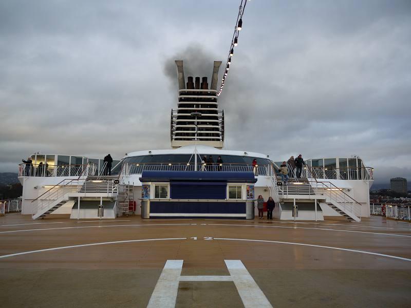Schiff nach Oslo