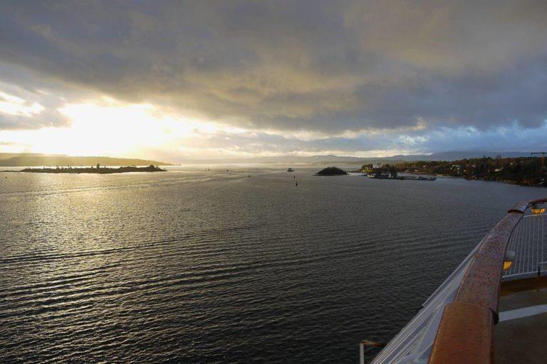 Auf der Fähre nach Oslo