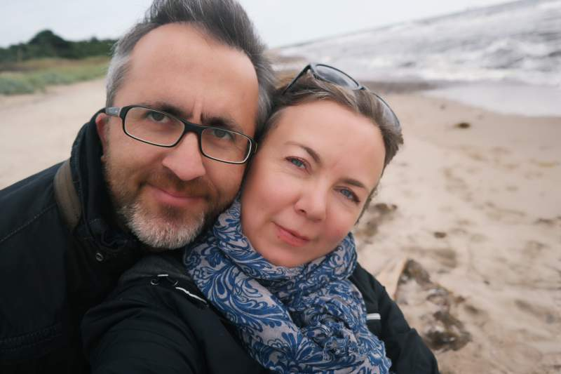 Schweden-Selfie