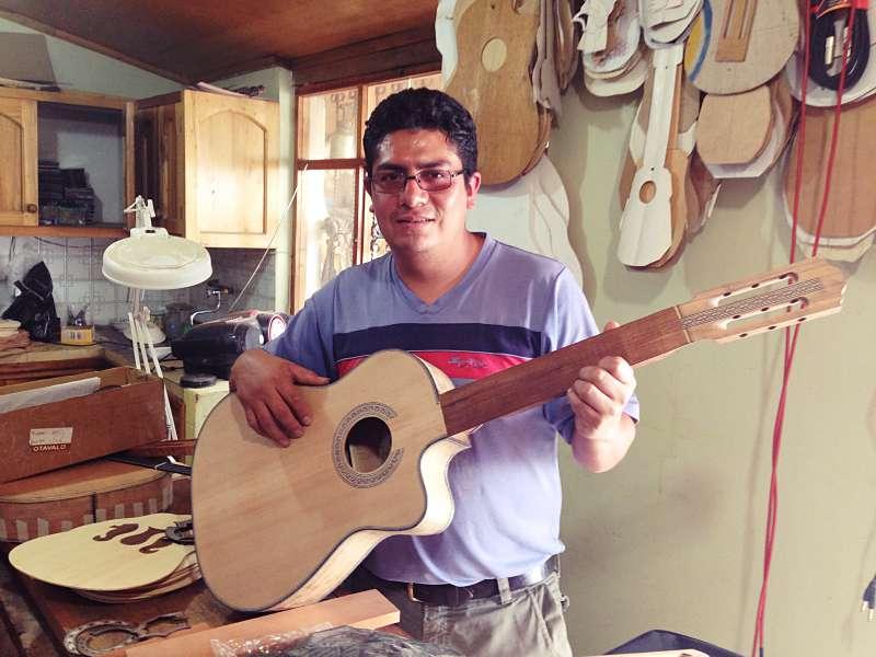 Santiago und die Gitarren