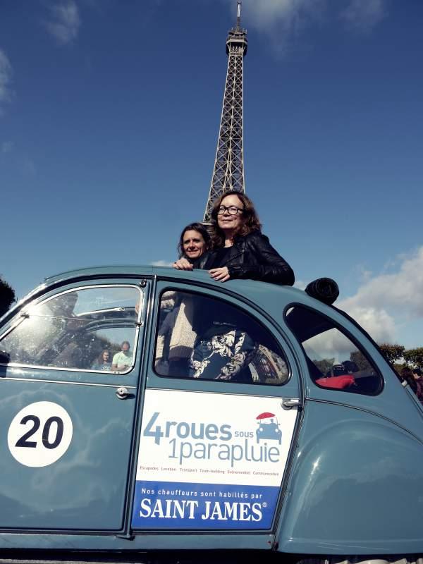 Eiffelturm und Ente