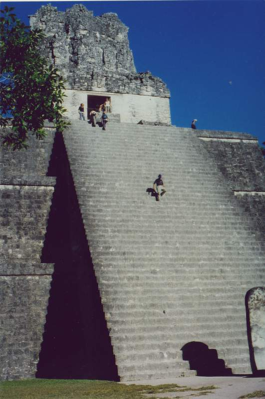 Tempel II in Tikal