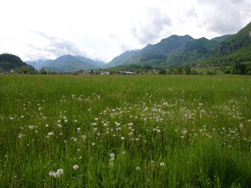 Bei Saluzzo, Piemont.