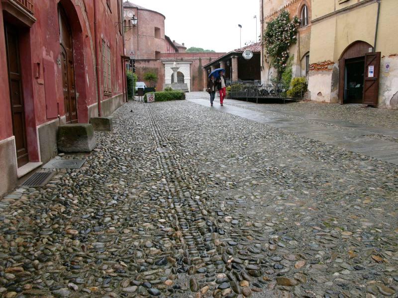 Spaziergang durch Saluzzo