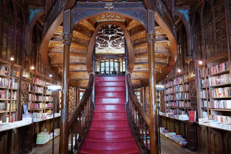 Buchhandlung Lello in Porto