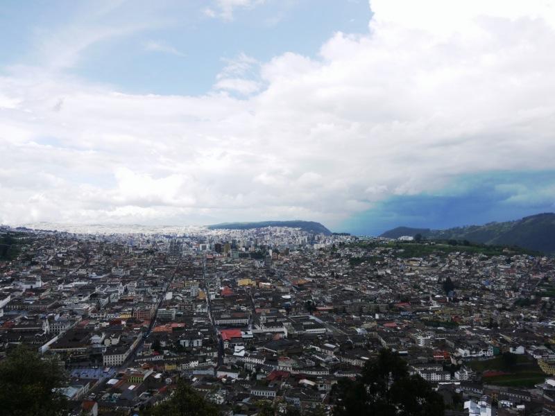 Quito von oben