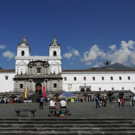 Quito, Plaza de San Francisco