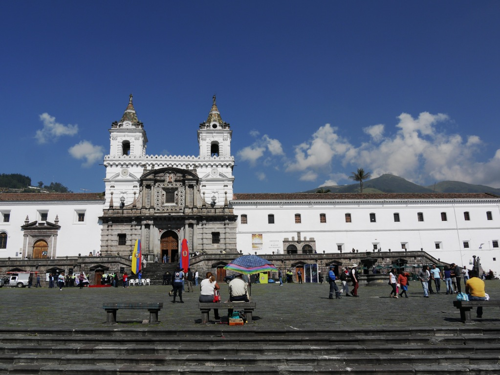 Quito, Plaza de San Francisco