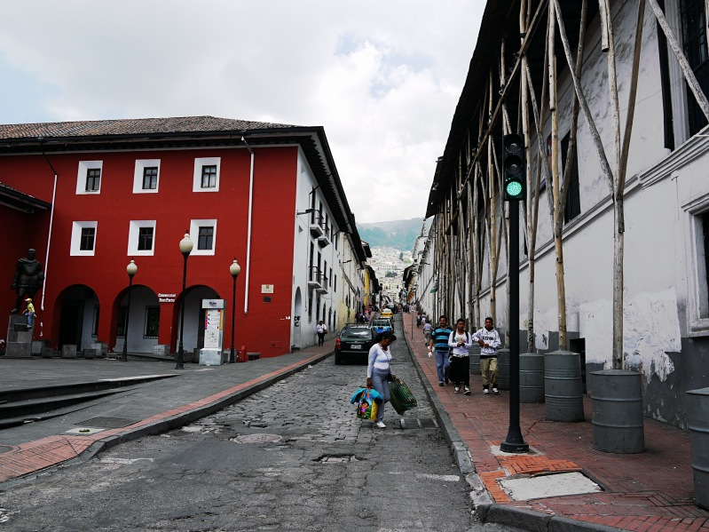 In den Straßen der Altstadt