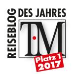 Bester Reiseblog 2017