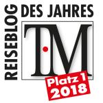 Bester Reiseblog 2018