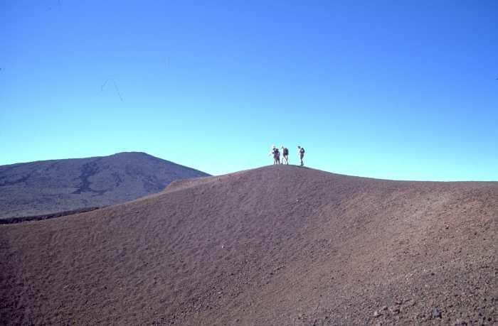 Wanderung zum Krater