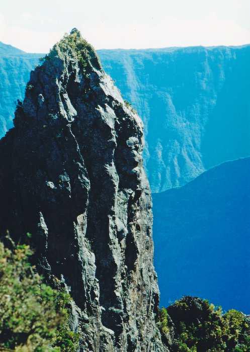 Cirque de Mafate, einer der drei Talkessel von La Réunion