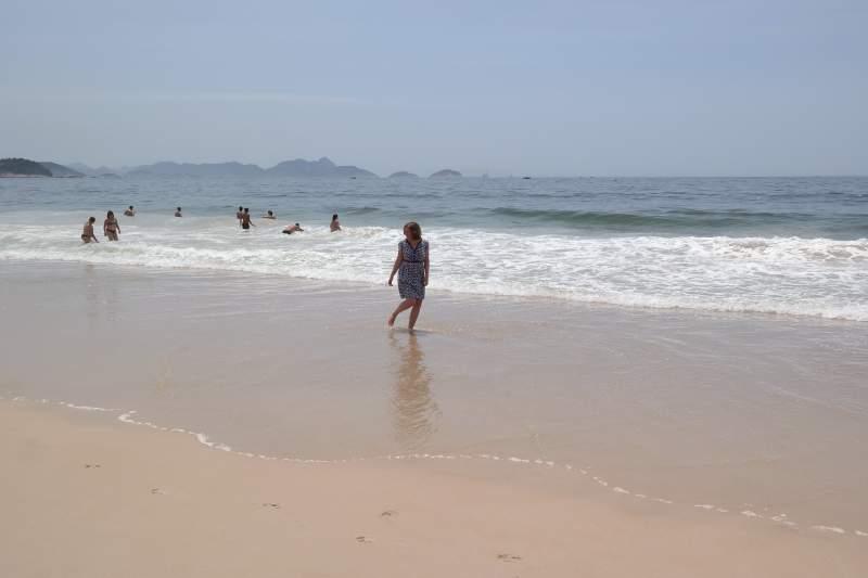 Samba am Strand