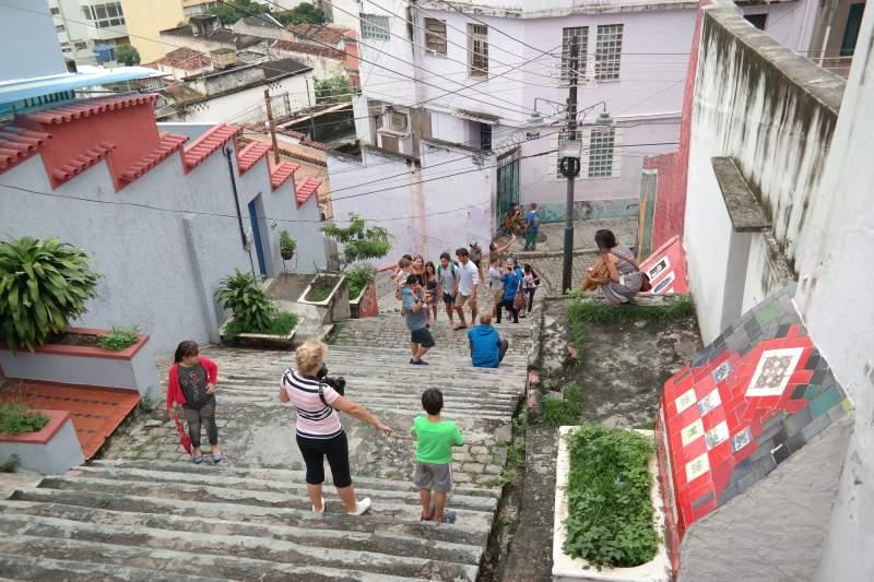 Santa Teresa und die Treppe des Künstlers