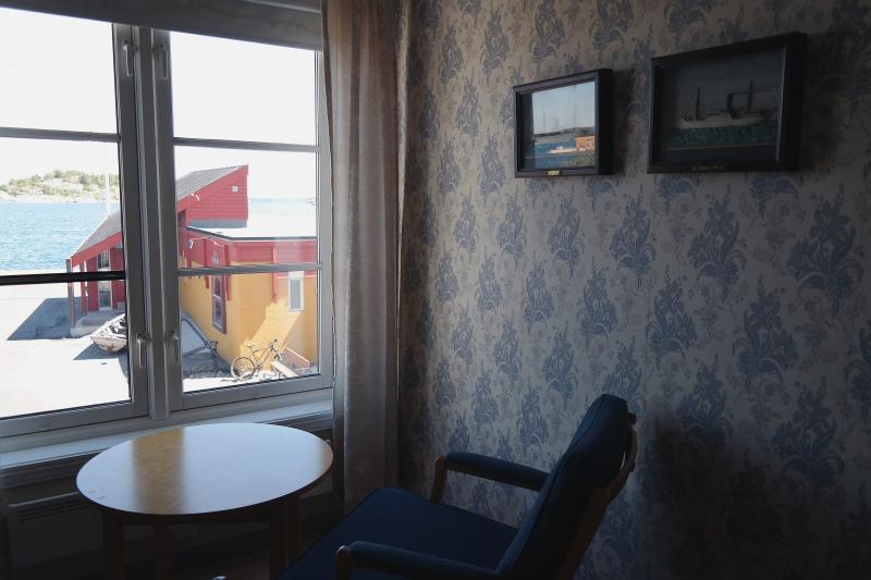 Das Schreiberzimmer im Risør Hotel