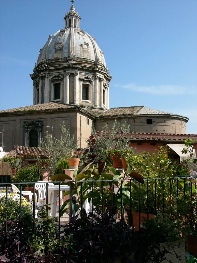 Aussicht Albergo Sole, Rom