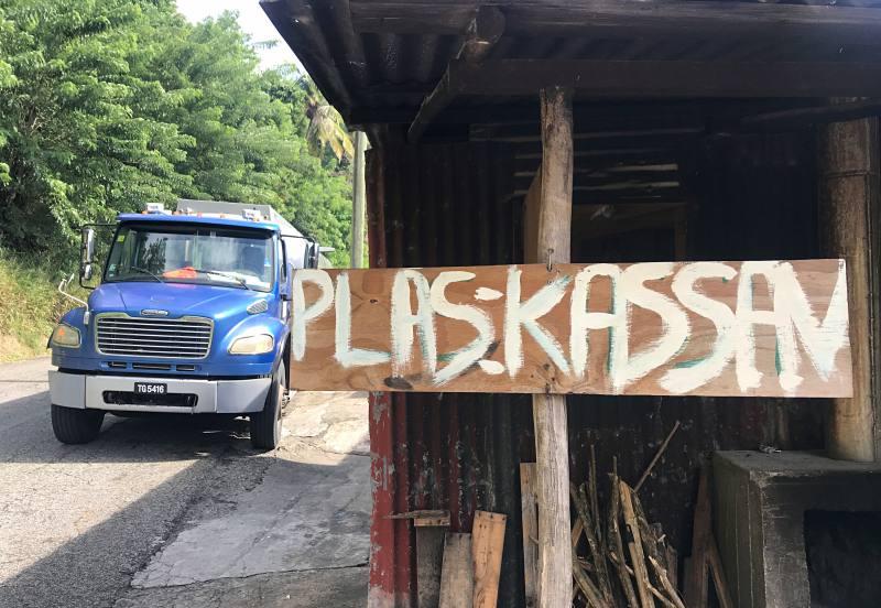 Plas Kassan, der Cassava-Stopp