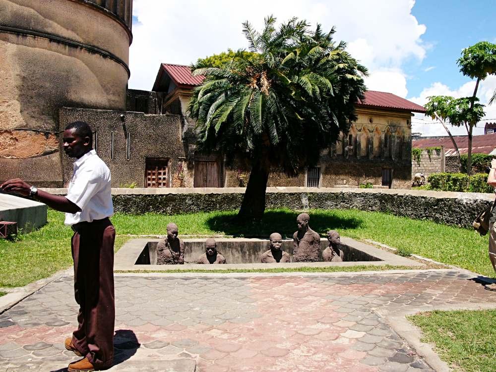 Denkmal der Sklaverei, Sansibar