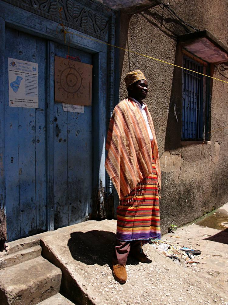 Juma und die Tücher aus Sansibar
