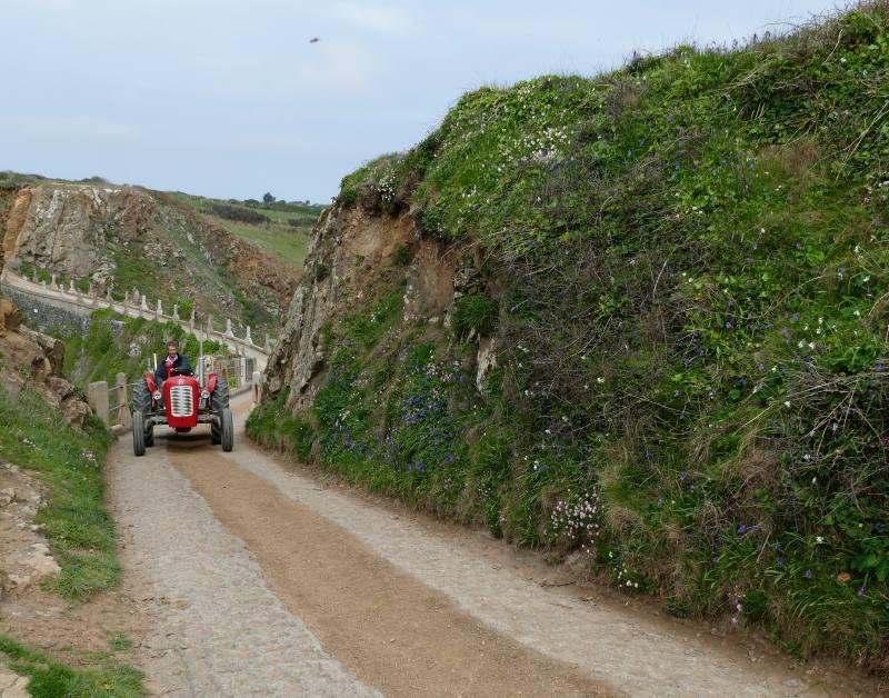 Traktor auf Sark