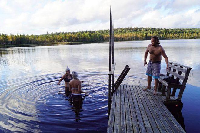 Sauna am Heikinjärvi