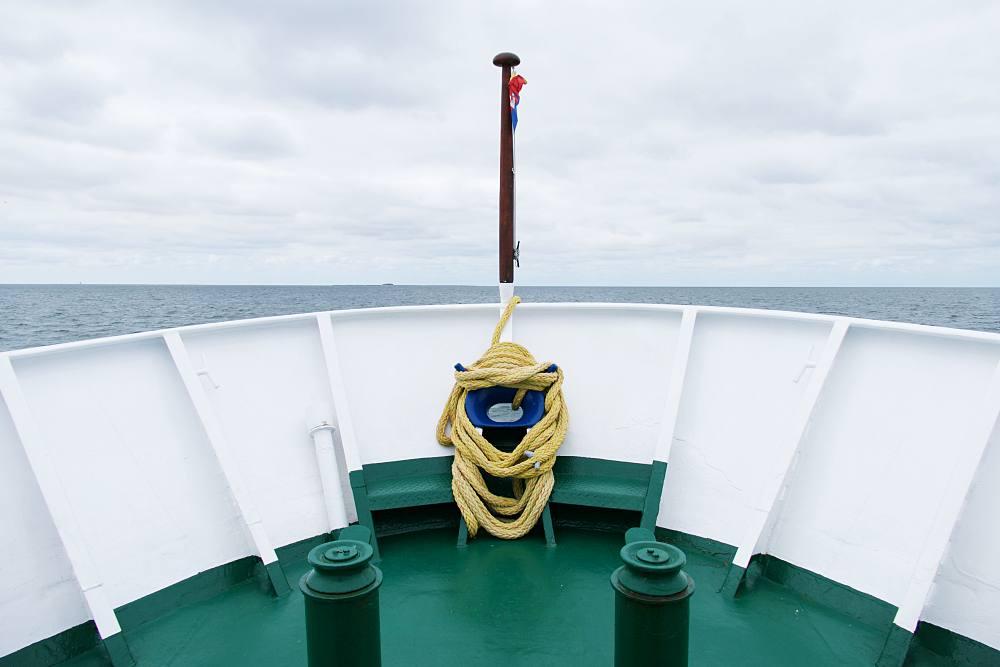 Mit dem Schiff nach Nordstrandischmoor
