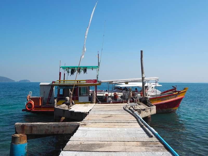 Fischerboot bei Koh Wai