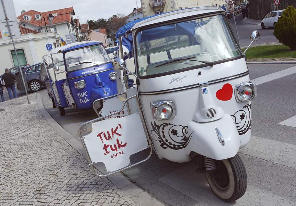 TukTuk in Sintra