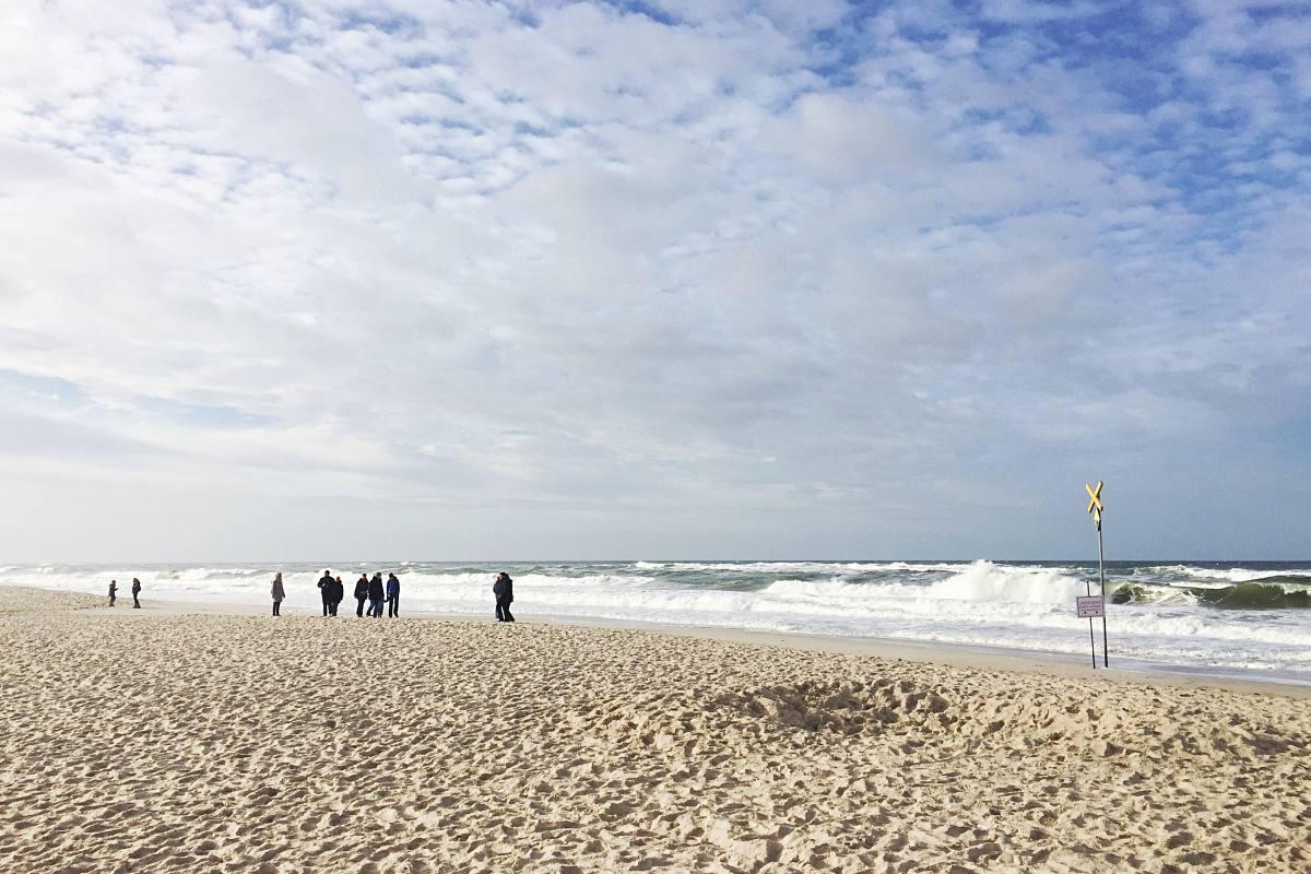 Strand in Sylt
