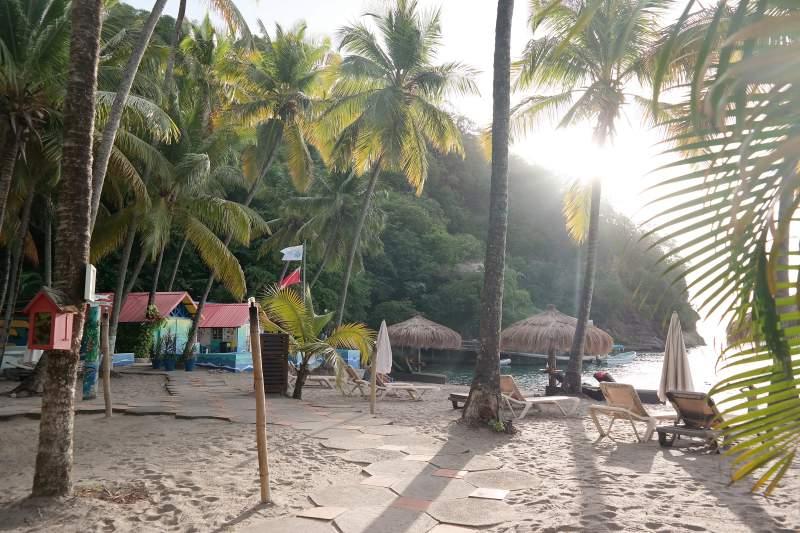 Beach des Anse Chastanet