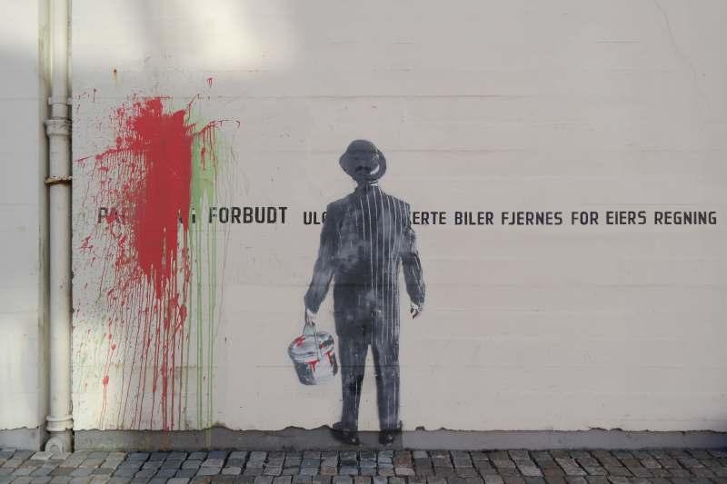 Street Art von Nick Walker