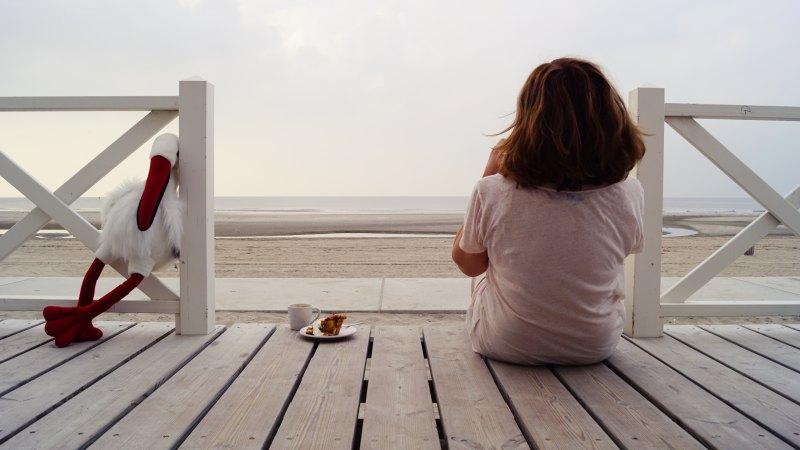 Im Strandhaus, Kijkduin